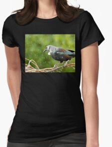 It's Raining White Fluff - Tui NZ Womens Fitted T-Shirt