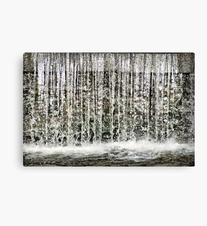 The Trickle Effect Canvas Print