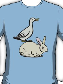 RABBIT BUNNY AND DUCK  T-Shirt