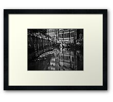 From fell to the River Tyne Framed Print