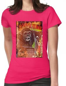 Big Apes Prefer Sexy Blondes Womens Fitted T-Shirt