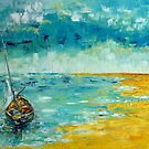 Old Fishing Boat by Claudia Hansen