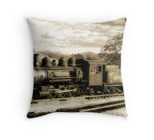 Rumbles From The Past Throw Pillow