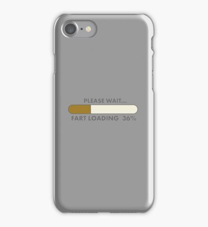FART LOADING  iPhone Case/Skin