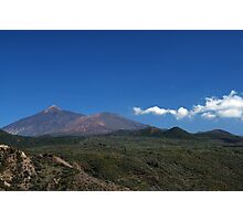 El Teide: Calm Moment Photographic Print