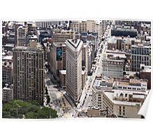 Flatiron Building, Manhattan, New York, USA Poster
