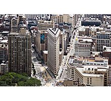 Flatiron Building, Manhattan, New York, USA Photographic Print