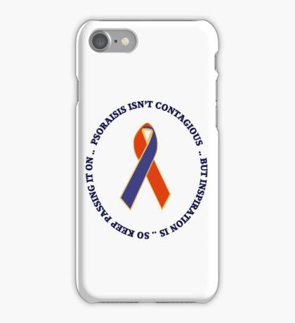 PSORIASIS AWARENESS UNISEX TEE SHIRTS, PILLOW,TOTE BAGS,CARDS ECT. iPhone Case/Skin
