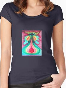 Third Eye Woman Women's Fitted Scoop T-Shirt