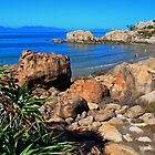 Horseshoe Bay Bowen Queensland Australia by Janette Rodgers