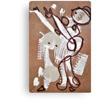 Paper Bag Princess Canvas Print