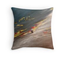 Surf School Throw Pillow