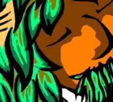 the Greenman Sticker