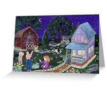 """Fireflies"" Greeting Card"