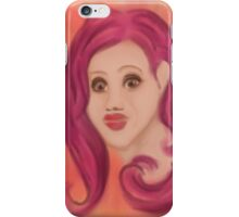 Pretty face iPhone Case/Skin