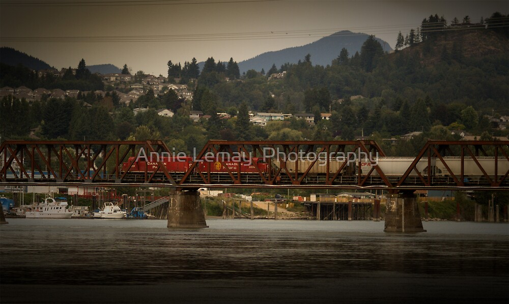 Mission Train  by Annie Lemay  Photography