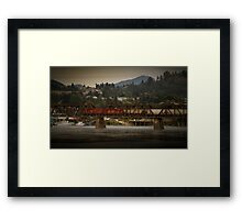 Mission Train  Framed Print