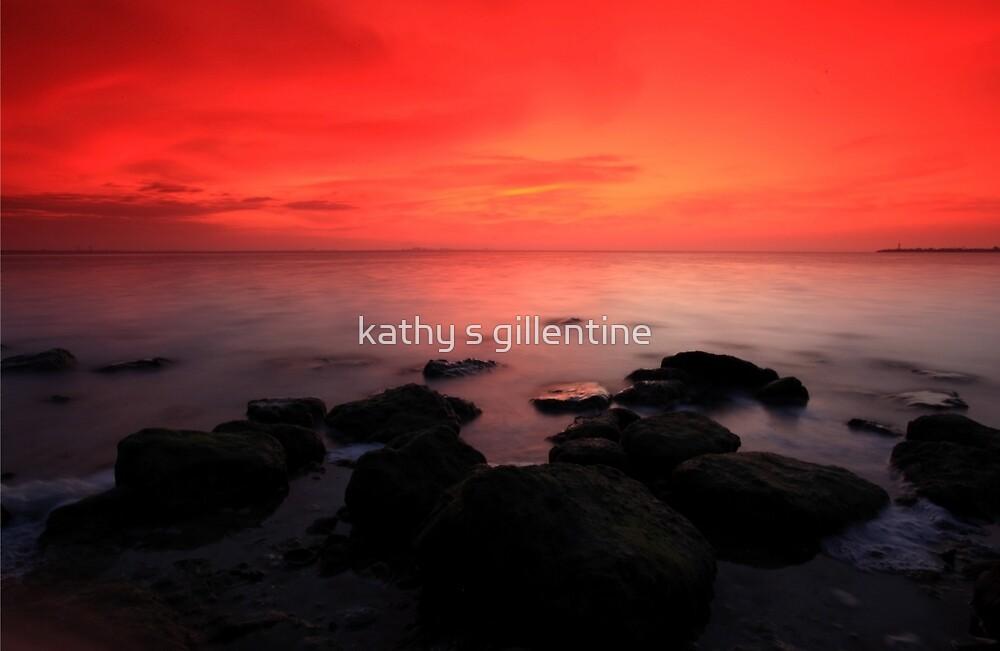 morning twlight grandeur by kathy s gillentine