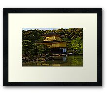 Golden Luminance Framed Print
