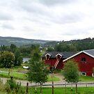 Norwegian Farmland by HELUA