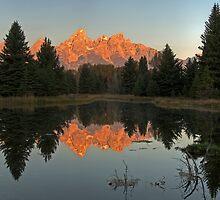 The Grand Tetons by Gary Lengyel