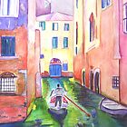 Come Ride with Me in a Gondola by Christiane  Kingsley