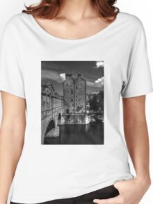 Pulteney Bridge On The River Avon Bath England Women's Relaxed Fit T-Shirt