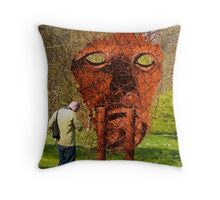 Big Brother is Watching You Throw Pillow