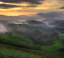 """East Ridge Sunrise"" by Gary by Gary & Marylee Pope"