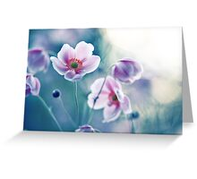 I ♥ my anemones Greeting Card