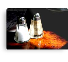 Cafe Daleks Metal Print