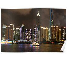 Shanghai, The Bund. Poster