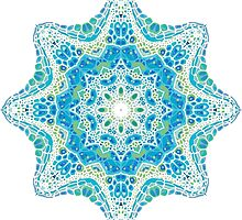 colorful mandala picture by Nadiiaz