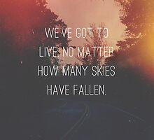 Fallen Skies by tinacrespo