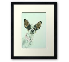 Lily Drawn Framed Print