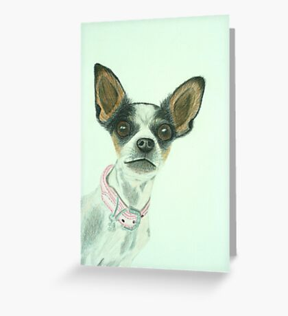 Lily Drawn Greeting Card