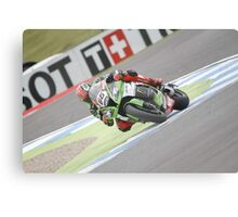 Sykes - World Superbikes Canvas Print