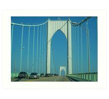 Newport Bridge I Art Print