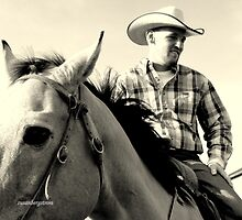 A Cowboy-Fighter Pilot by Susan Bergstrom