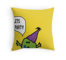 Party Monster Throw Pillow