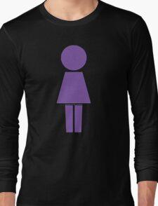 Robot Girl Long Sleeve T-Shirt