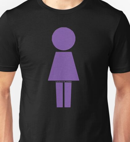 Robot Girl Unisex T-Shirt