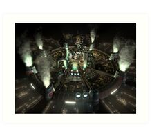 Final Fantasy VII - Central Art Print