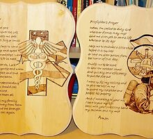 Fire & EMS Prayer Plaques by Monyz