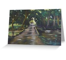 The Green Archway, Warrens Lane - Lansdowne Greeting Card