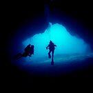 underwater cave by Melissa Fiene
