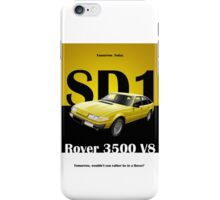 Rover SD1 period advert  iPhone Case/Skin