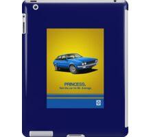 Austin Princess period advert iPad Case/Skin