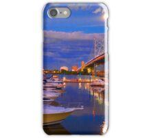 Moonrise over Camden, NJ iPhone Case/Skin