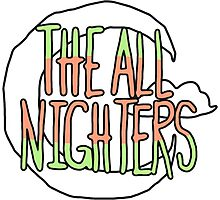 The All Nighters Official Primary Logo Photographic Print